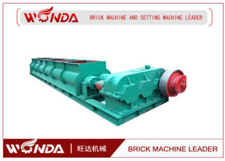SJ 4000 Double Shaft Mixer , Small Clay Mixer?Red Brick Production Line Applied