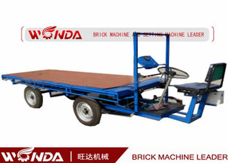 Electric Green Brick Cart without Board in Clay Brick Plant with natural drying process