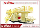 Alloy Structure Auto Clay Mud Brick Making Machine?Easy Operation CE Certificated