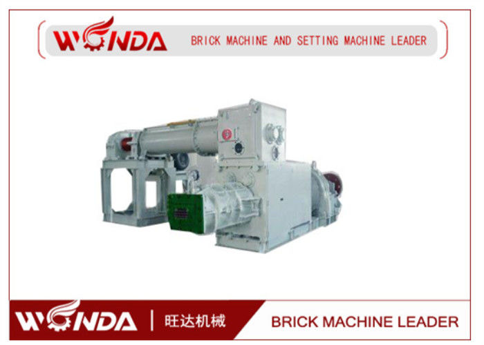 Vacuum Extruder Automatic Red Soil Brick Making Machine?Low Power Consumption