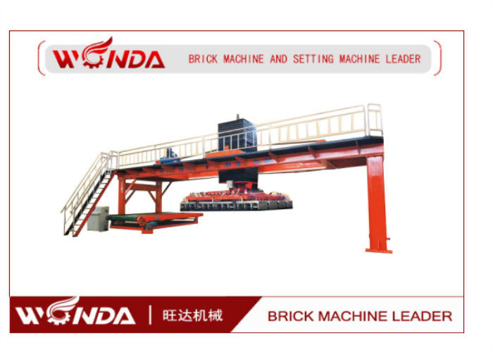 Fired Auto Clay Brick Machine?Stacking Equipment 220V PLC Contol System