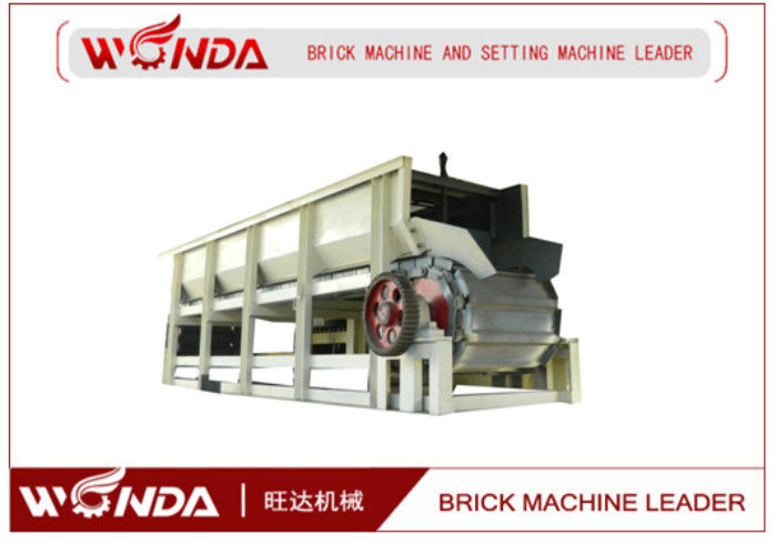 Steel Clay Brick Production Line Box Type Feeder Avoid Material Damaging