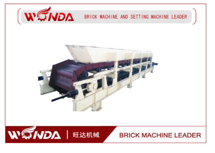 Full Automatic Brick Box Feeder Simple Structure Hollow Block Making Machine Applied
