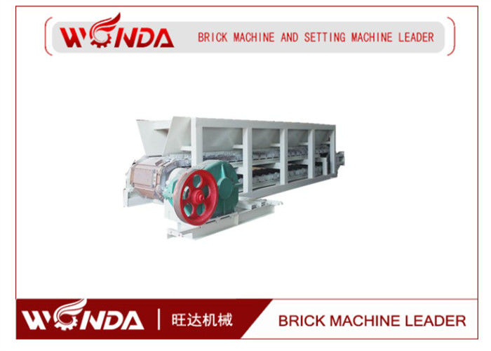 Fried Clay Red  Belt Conveyor Steel Box Feeder Automatic In Brick Making Line