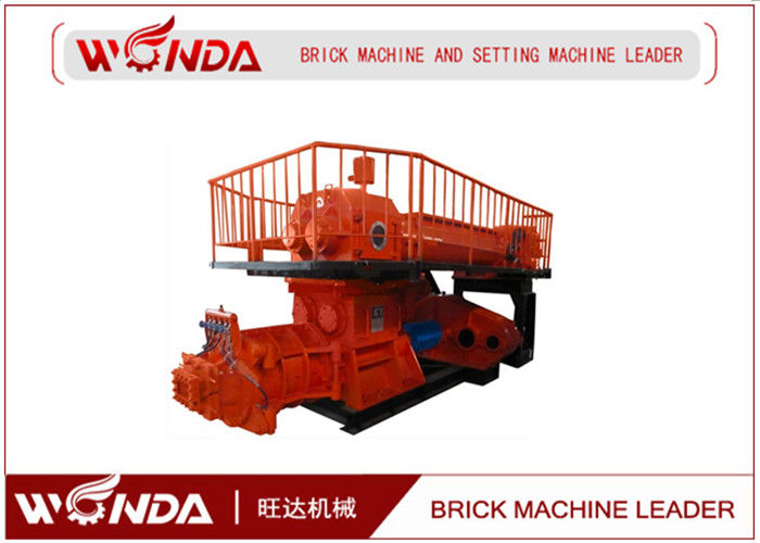 Double Stage Vacuum Extruder Clay Bricks Making Machine Fully Automatic?160KW?
