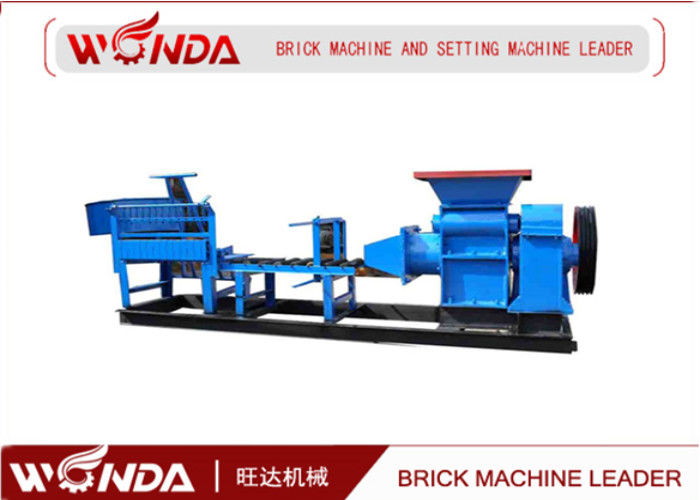 Coal Gangue Red Clay Brick Making Machine Hydraulic Forming Easier Construction