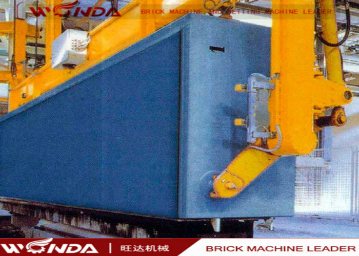 4M CLC3.5 Autoclaved Aerated Concrete Machine Ground / Air Turn Over Sling Process