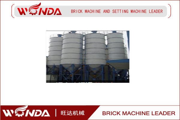 LX Continuous Slaking Silos Complete Plant For Making Autoclaved Fly Ash Brick AAC Blok Line
