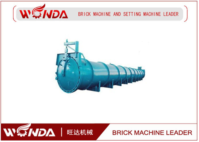 Shared Equipment AAC Block Production Line , Concrete Block Equipment?Steel Material