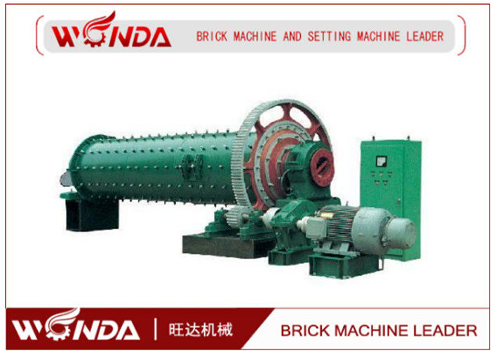 Fly Ash Ball Mill AAC Block Production Line , Block Production Machine?AC Motor 380KW