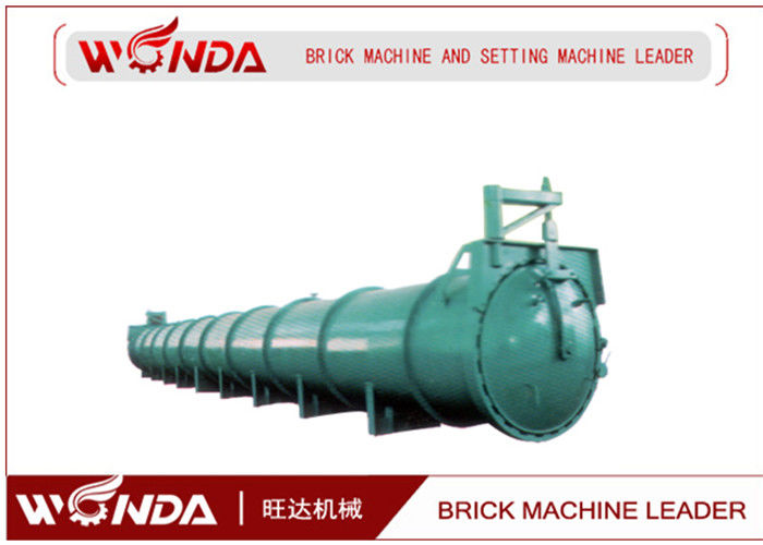 Steel Material AAC Block Production Line , Concrete Block Making Equipment?Support Saddle