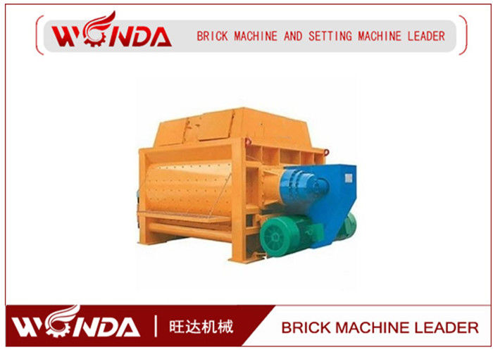 SJ 300 × 42 Double - Horizontal - Shaft - Forced Mixer In Autoclave Aerated Concrete Block